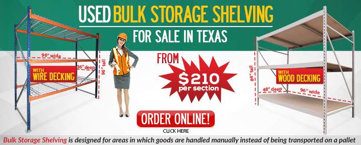 Used Bulk Storage Shelving