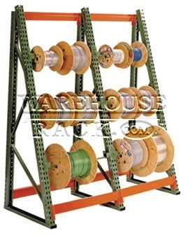 Wire Reel Rack | New Cable Reel Rack Warehouse Rack Company Inc