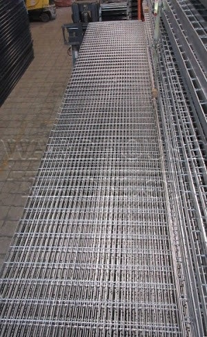 Bar Grating Painted Silver 36 Wide X 19 4 Long X 1
