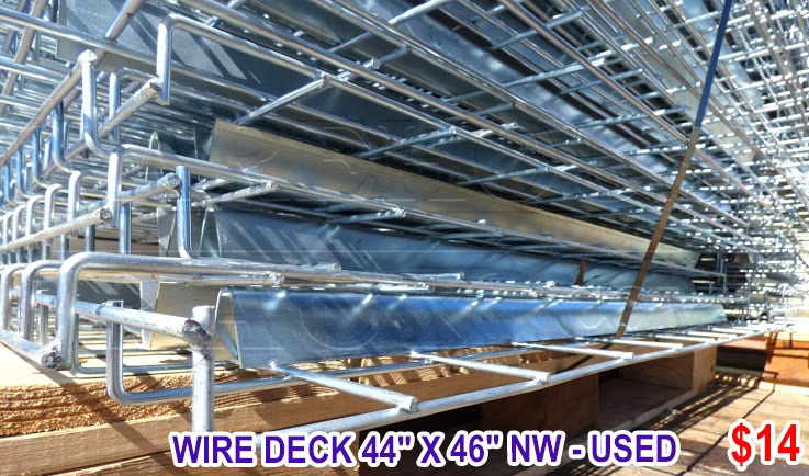Used 42 Deep Mirak Inca Uprights With 96 Long Beams : Warehouse Rack ...