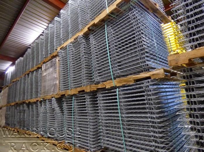 Pallet Rack Wire Deck | Wire Decking | Pallet Rack Decking ...