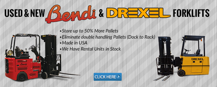 New & Used Bendi & Drexel Forklifts