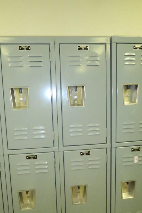 Lockers 12 Wide X 24 Tall Per Unit Used Sl367815u