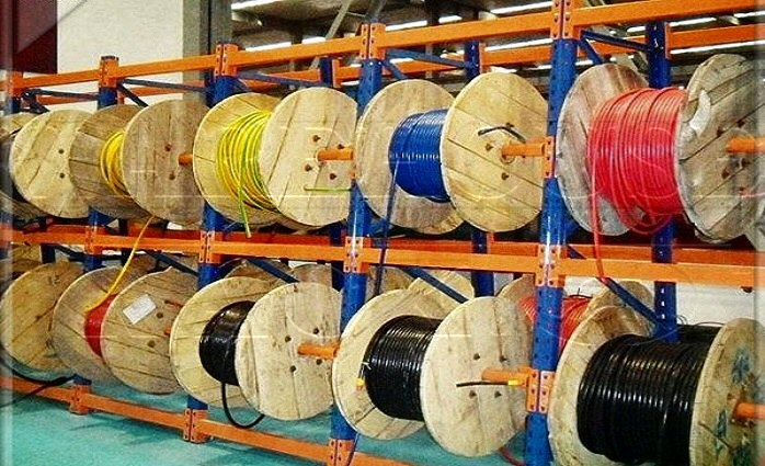 New Cable Reel Rack : Warehouse Rack Company, Inc.