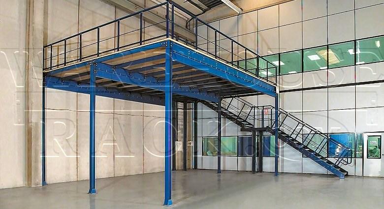 Used Mezzanine Warehouse Rack Company Inc