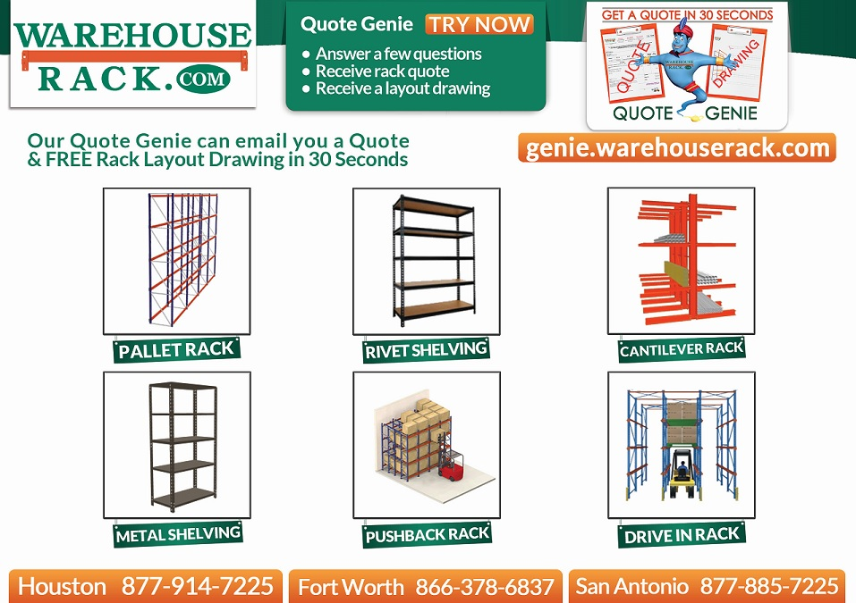 Free Warehouse Equipment Quote